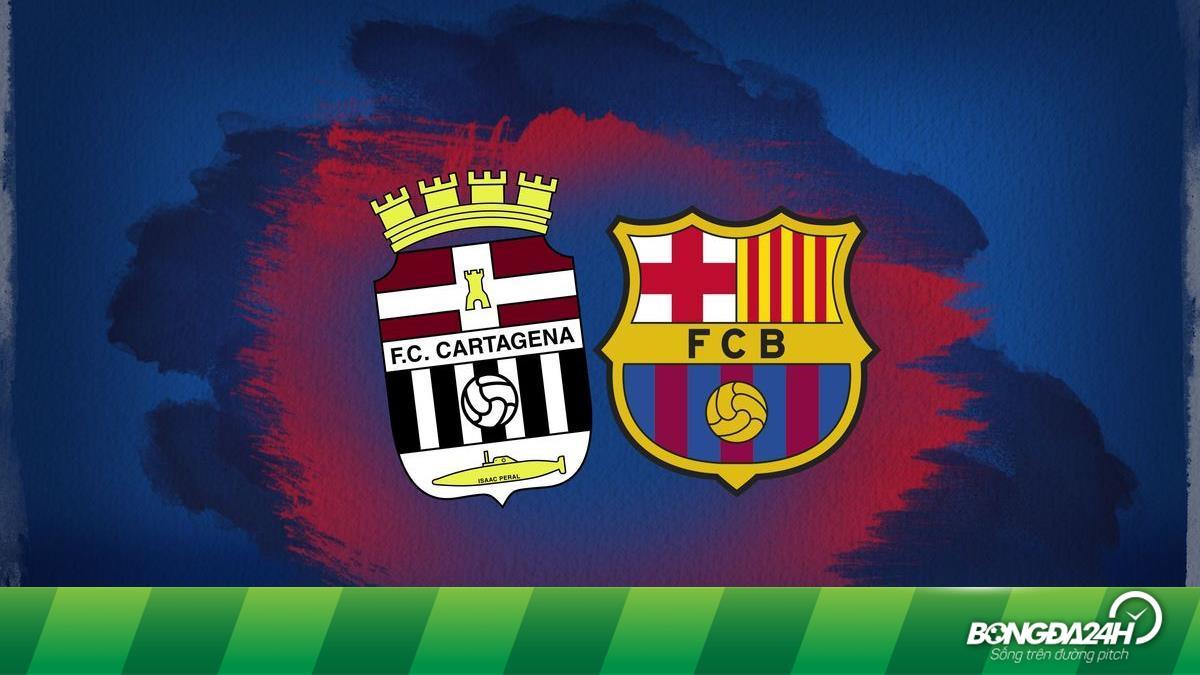 Lịch thi đấu bóng đá hôm nay 13/11: Giao hữu Cartagena vs Barca