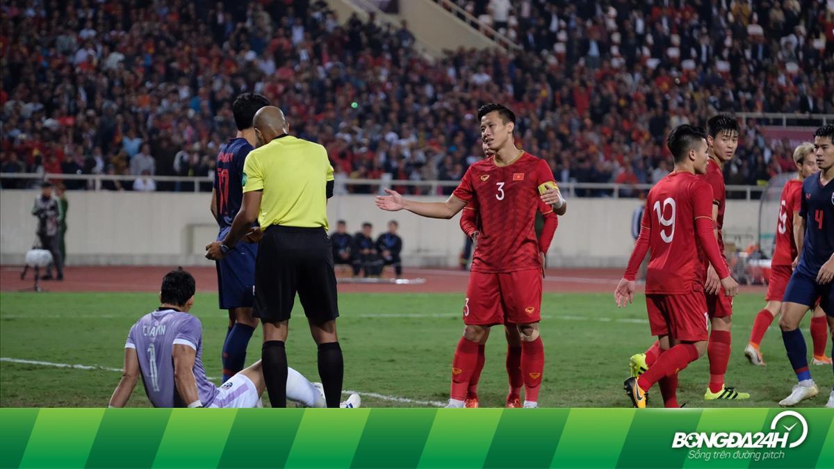 Trọng tài Oman bị phản đối vì từ chối bàn thắng cho ĐT Việt Nam