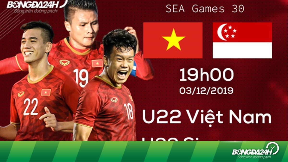 Nhận định U22 Việt Nam vs U22 Singapore (19h00 ngày 3/12): 3 điểm bắt buộc - bongda24h