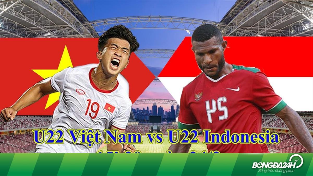 d5bc786671afc Trực tiếp U22 Việt Nam vs U22 Indonesia bán kết U22 Đông Nam Á