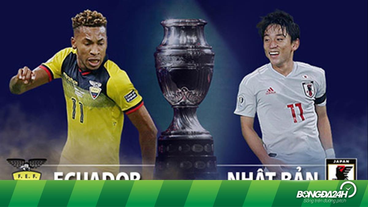 TRỰC TIẾP Ecuador vs Nhật Bản 6h00 ngày 25/6 (Copa America 2019)