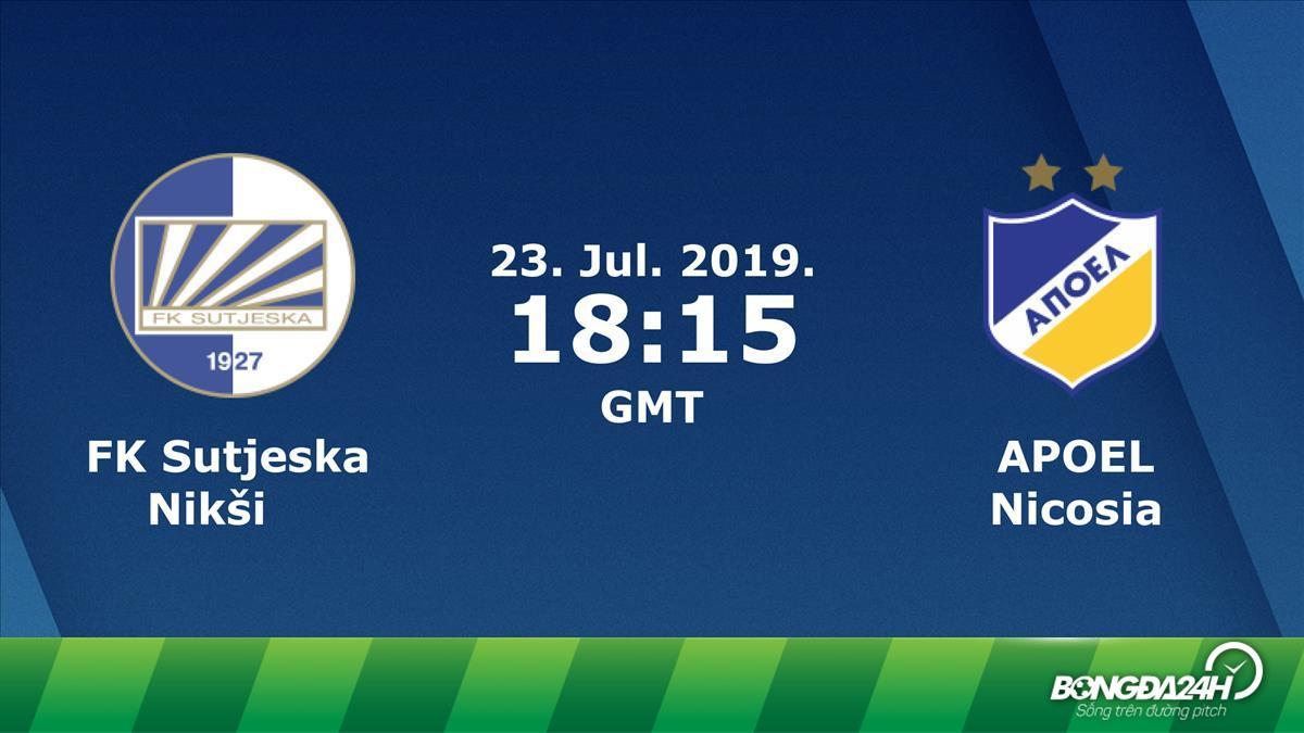 Nhận định Sutjeska vs APOEL 1h15 ngày 24/7 (Champions League 2019/20)
