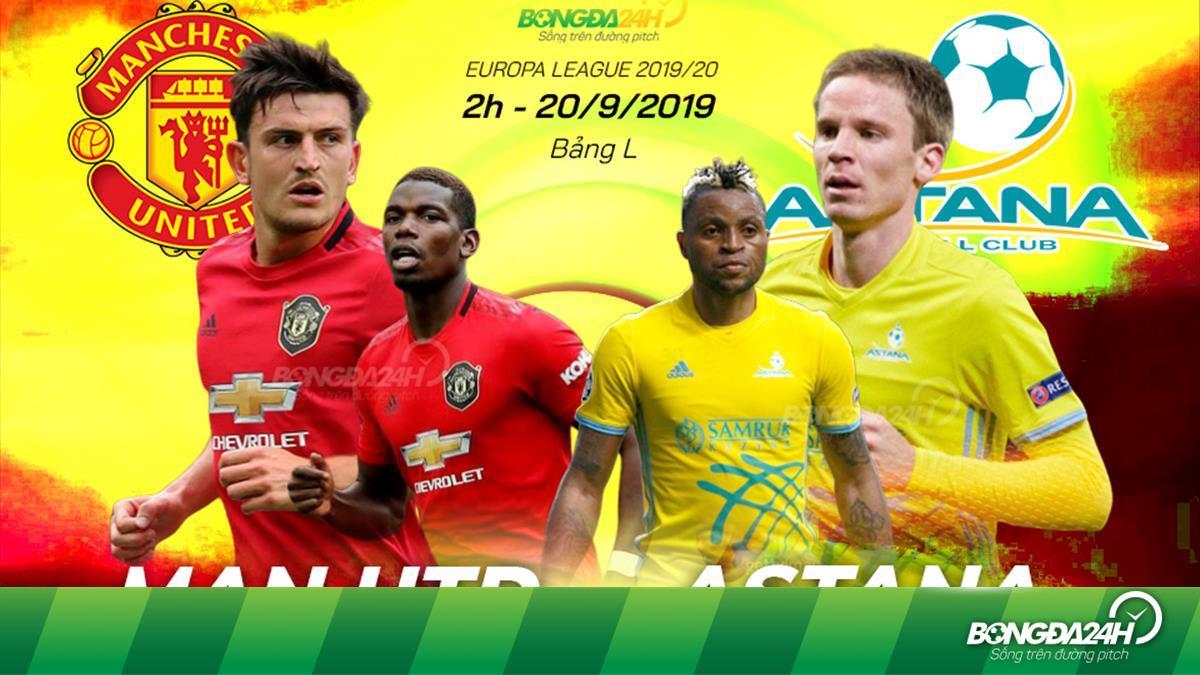 Lịch thi đấu bóng đá ngày hôm nay (19/9): MU, Arsenal ra quân ở vòng bảng Europa League 2019/20