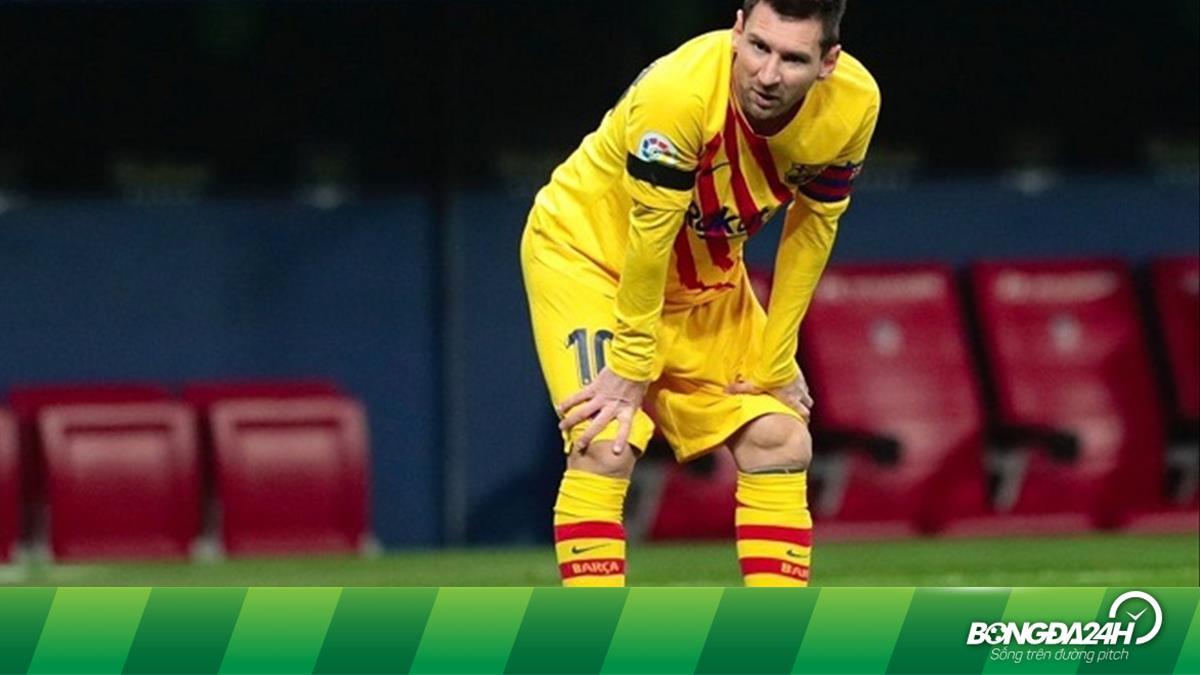 Barca gạch tên Messi khỏi danh sách trận gặp Dynamo Kyiv