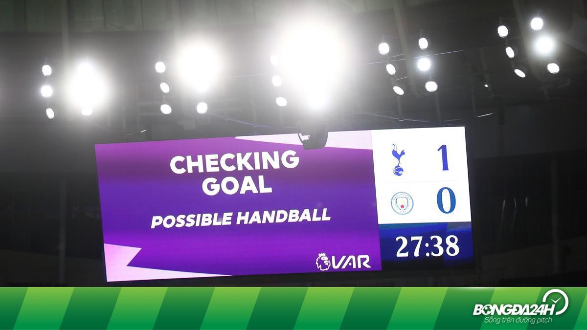 Cận cảnh tình huống Man City bị từ chối bàn thắng trước Tottenham