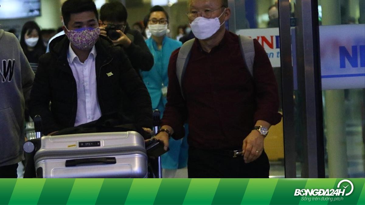 Vượt qua kiểm tra y tế, HLV Park Hang Seo CHÍNH THỨC có mặt tại Việt Nam - xs thứ sáu