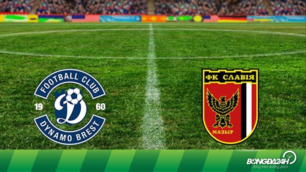 Nhận định bóng đá Dinamo Brest vs Slavia Mozyr 23h30 ngày 4/4 (VĐQG Belarus 2020)