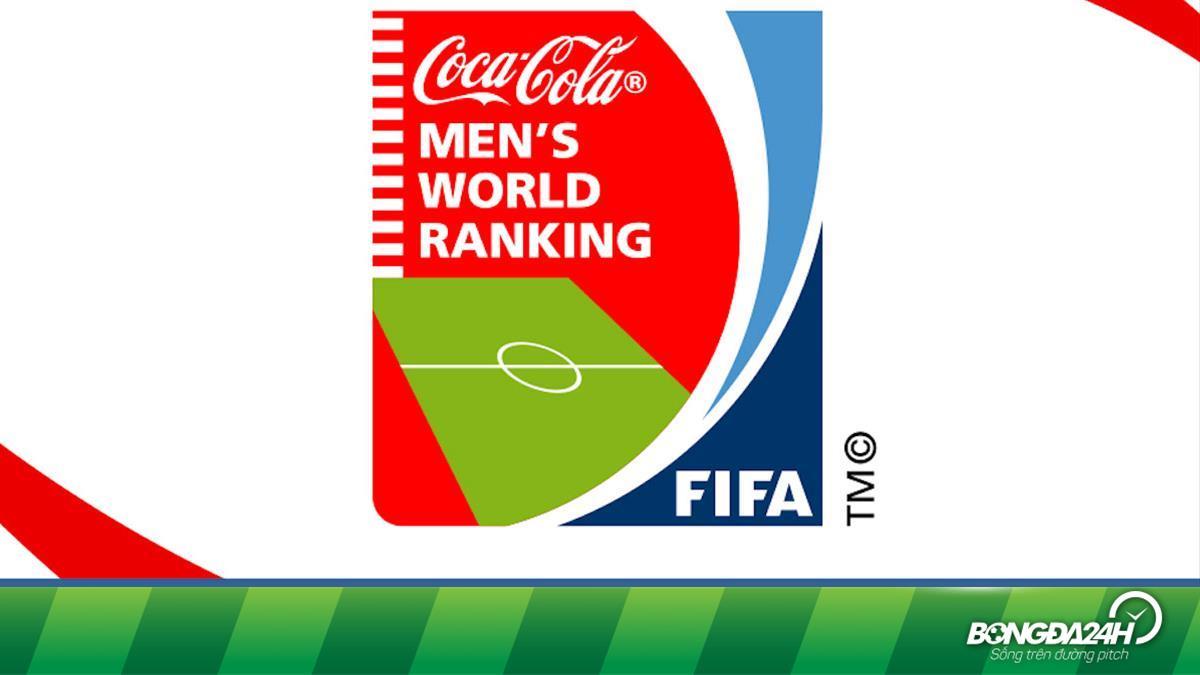 Bảng Xếp Hạng Fifa Thế Giới Bxh Bong đa Nam Fifa Mới Nhất