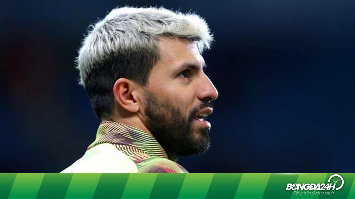 Aguero sang Lisbon cùng Man City, Pep Guardiola nín thở chờ đợi