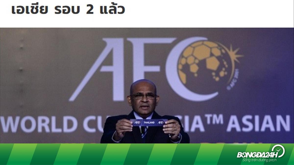 Báo Thái nói gì khi vòng loại World Cup 2022 bị hoãn?