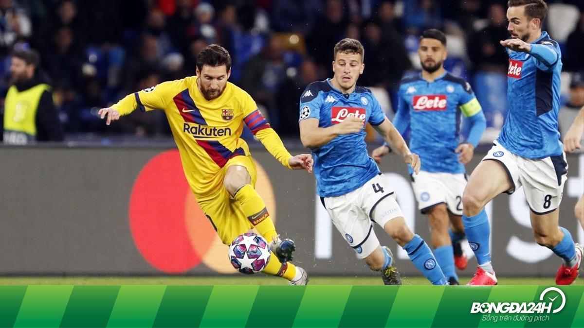 Barcelona sẽ đá phòng ngự trước Napoli?