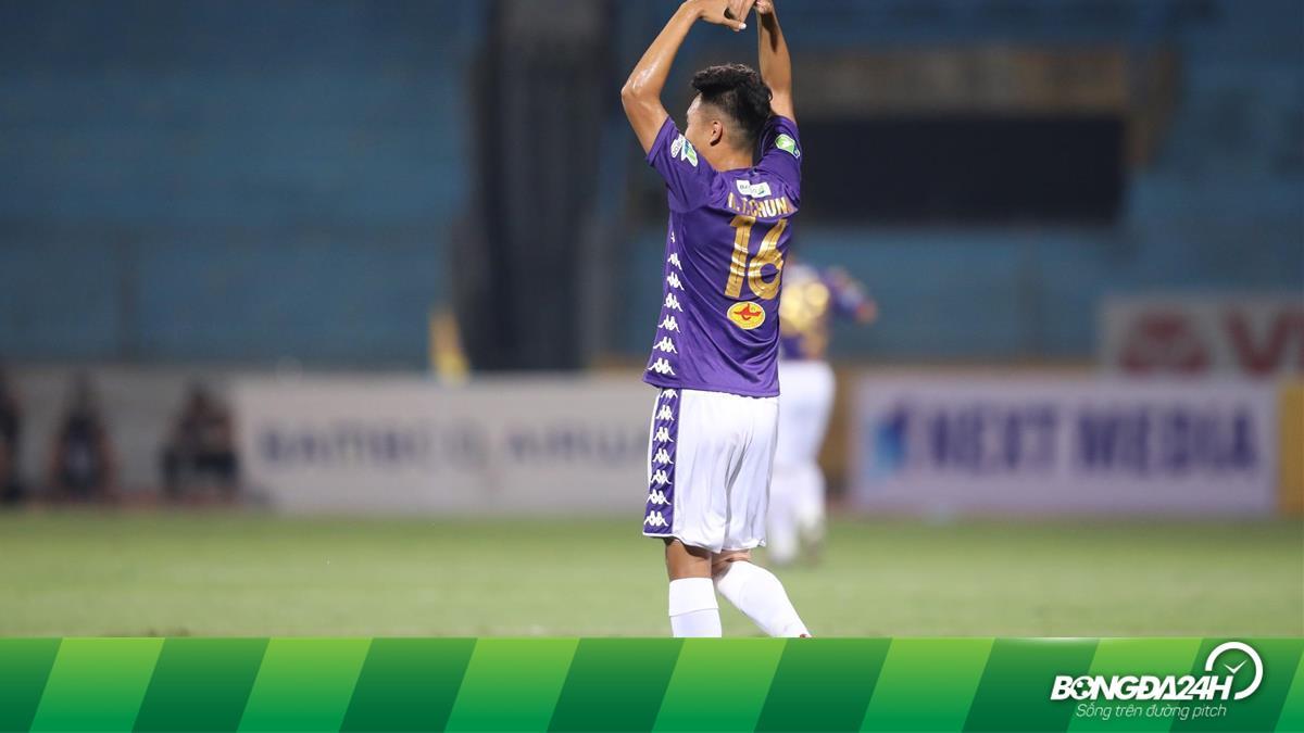 Thành Chung tiếp tục đá tiền đạo ở Chung kết Cúp Quốc gia?