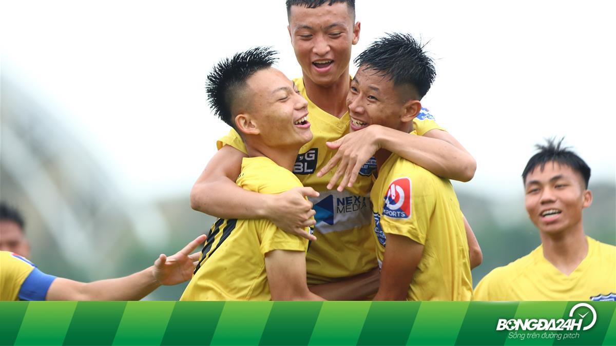 SLNA đánh bại Sài Gòn ngày ra quân bảng B VCK giải bóng đá vô địch U17 Quốc gia - Next Media 2020