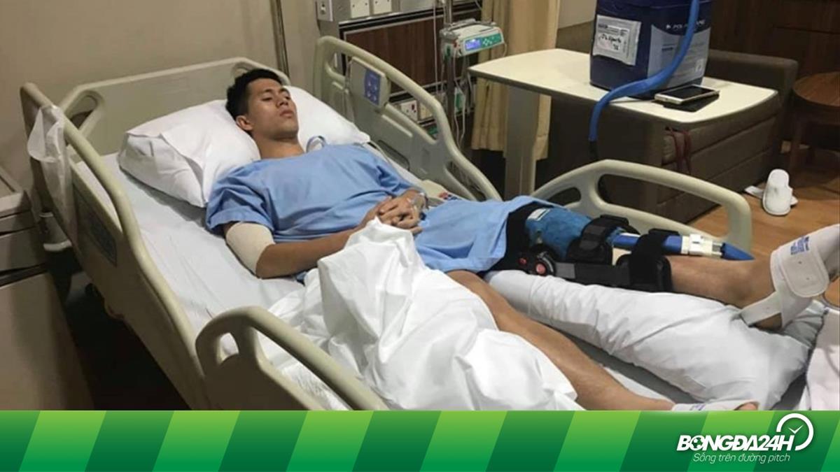 BLV Quang Huy chia sẻ về chấn thương của Đình Trọng