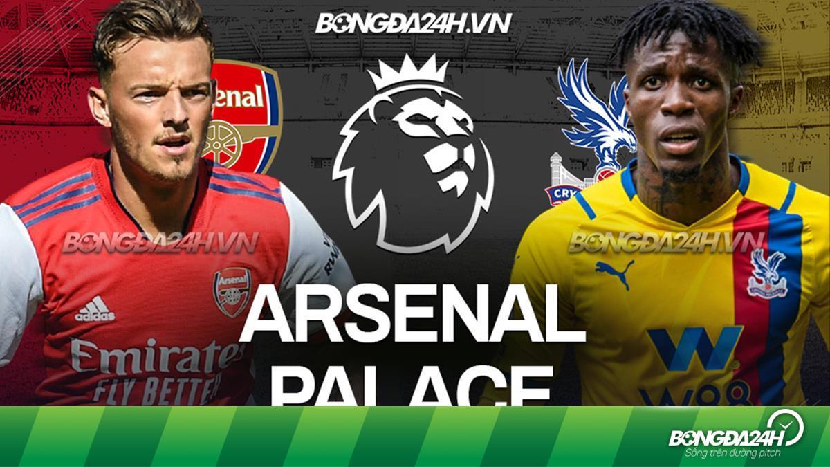 Kết quả bóng đá Arsenal vs Palace Ngoại hạng Anh hôm nay