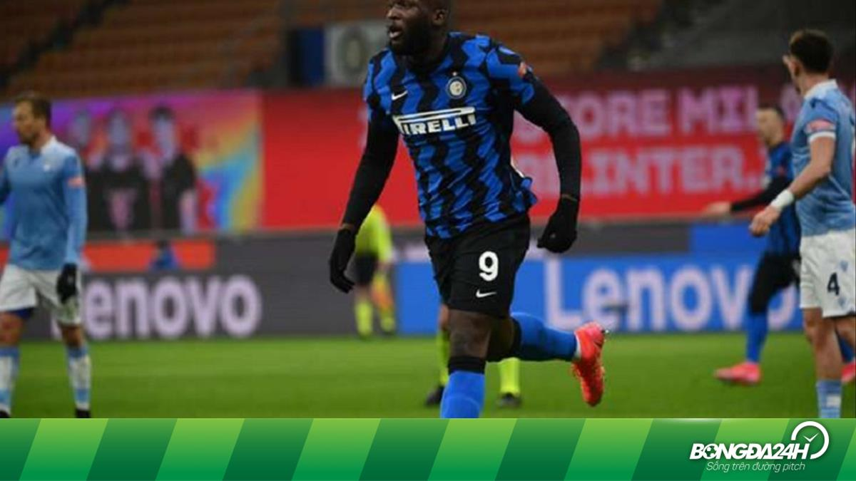 Lukaku đạt cột mốc ghi bàn khủng trong ngày Inter lên đầu BXH Serie A