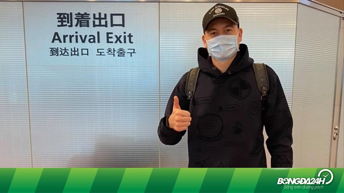 Thủ môn Đặng Văn Lâm đã có mặt tại Nhật Bản