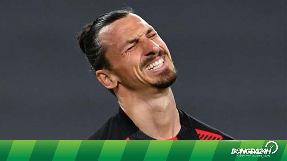 Chính thức: Zlatan Ibrahimovic lỡ hẹ