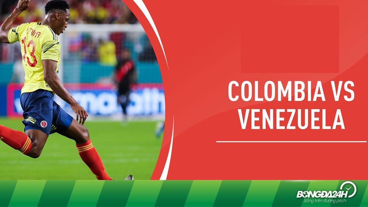 Trực tiếp bóng đá Copa America 2021 : Colombia vs Venezuela hôm nay 18/6