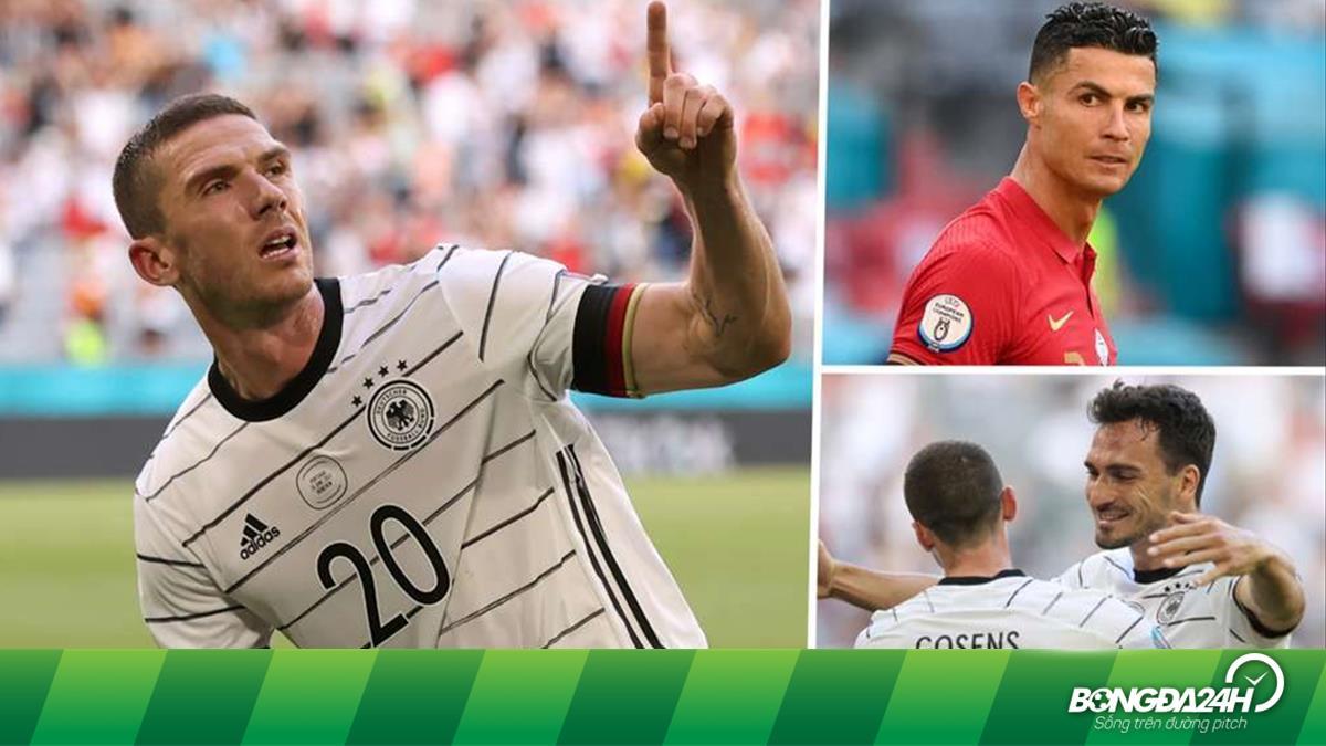 Gosens nói gì khi không tiếp tục hỏi đổi áo với Ronaldo?