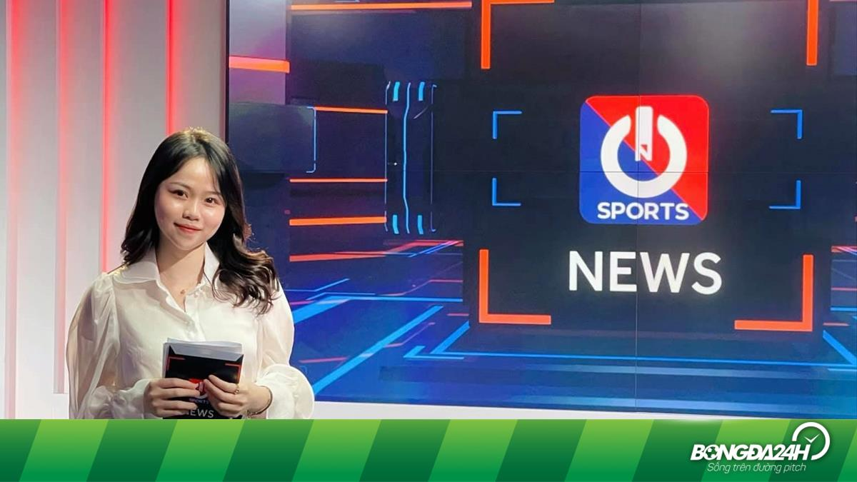 Bạn gái cũ Quang Hải bất ngờ trở thành MC thể thao