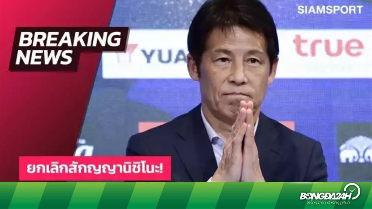 NÓNG: LĐBĐ Thái Lan sa thải HLV Akira Nishino