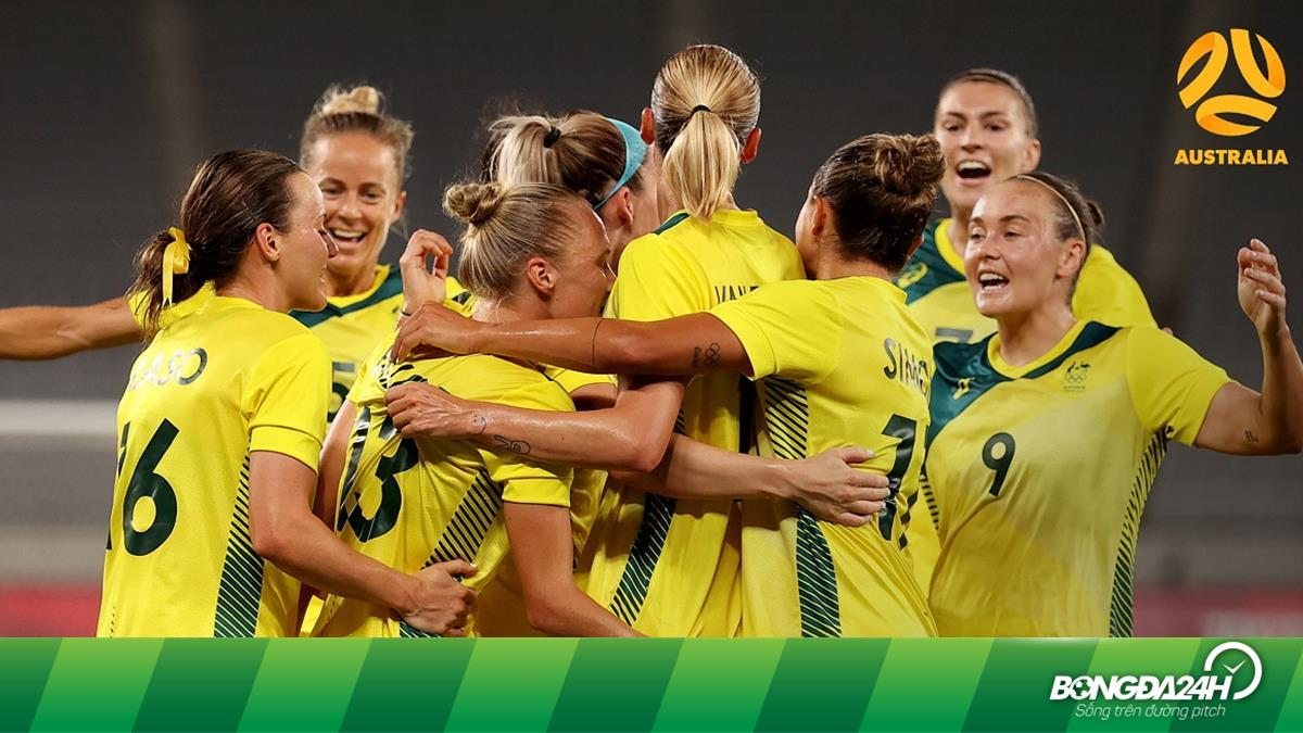 Trực tiếp bóng đá Nữ vương quốc Anh vs Australia tứ kết Olympic Tokyo hôm nay