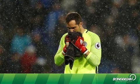Man City sẽ tiếp tục đi săn thủ môn mới
