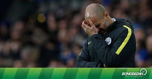 Man City thua thê thảm, HLV Guardiola lập kỷ lục đáng quên