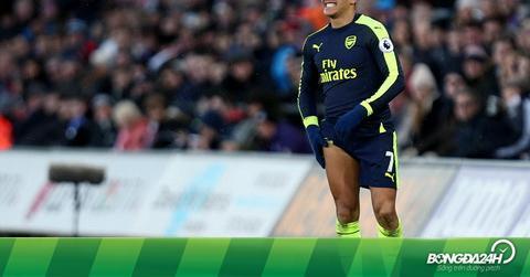 Wenger nói gì về phản ứng của Alexis Sanchez?