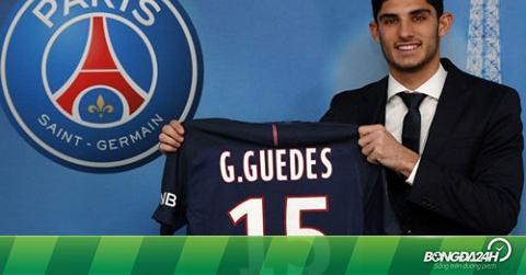 Sao trẻ Goncalo Guedes tiết lộ lý do từ chối MU để gia nhập PSG - Bóng đá 24h