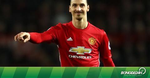 """7 thống kê """"khủng"""" Ibrahimovic thiết lập trong màu áo Man Utd"""