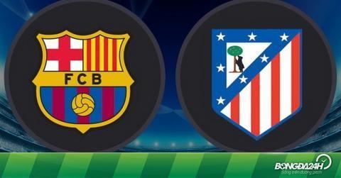TRỰC TIẾP Barca 1-0 (3-1) Atletico Madrid (H2): Cả hai đội đều chỉ còn 10 cầu thủ
