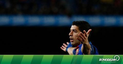 """Suarez nói về chiếc thẻ đỏ: """"Trọng tài thật nực cười!"""""""