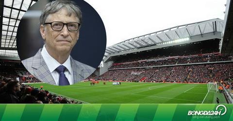 Liverpool suýt rơi vào tay tỷ phú Bill Gates