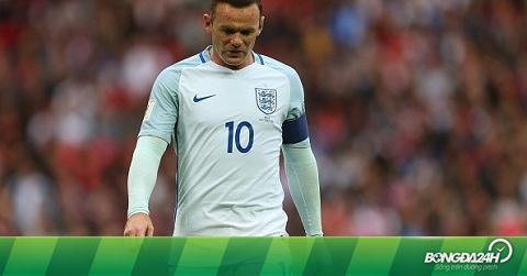 Rooney bất ngờ bị HLV Southgate loại khỏi ĐT Anh