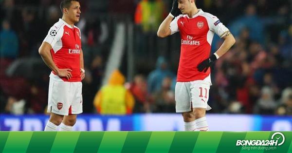 """""""Sanchez và Ozil khiến Arsenal thất vọng mùa này"""""""