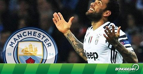 Dani Alves chính thức thừa nhận khả năng sang Man City