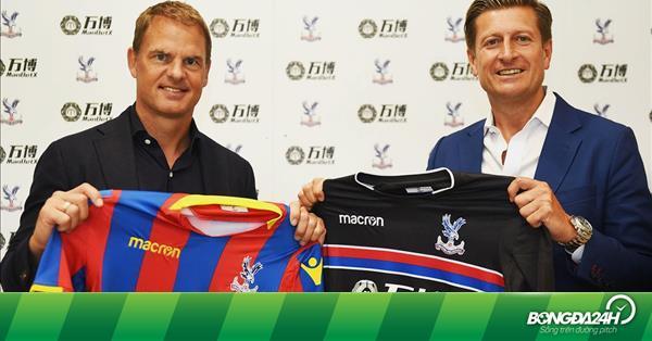 Crystal Palace CHÍNH THỨC bổ nhiệm tân HLV Frank De Boer