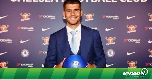 """Chelsea gặp khó khi tìm """"phụ tá"""" cho Morata"""