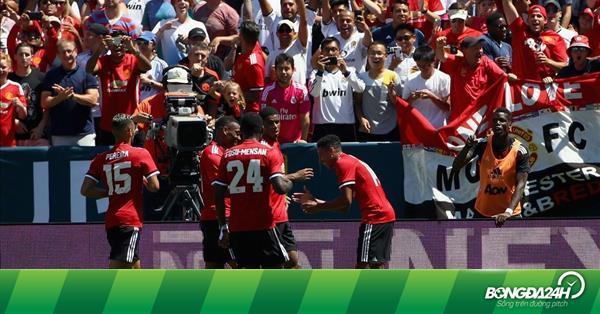 """M.U toàn thắng 4 trận tại Mỹ: """"Khởi nghĩa"""" ở xứ cờ hoa"""