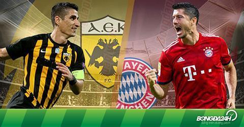 Nhận định AEK Athens vs Bayern Munich 23h55 ngày 23/10 (Champions League 2018/19)