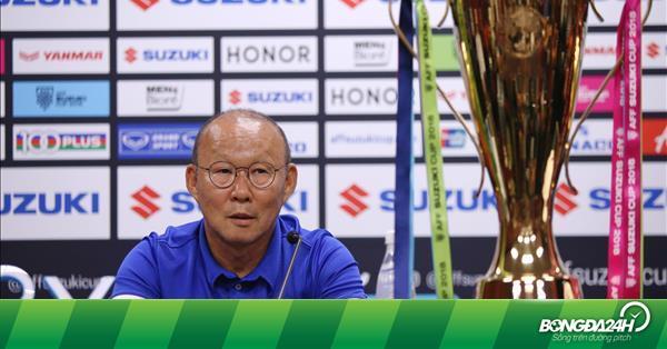 HLV Park Hang Seo mong người hâm mộ tiếp động lực để vô địch AFF Cup 2018 - bongda24h