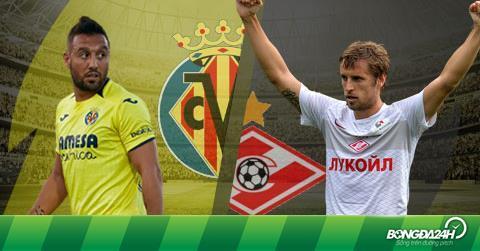 Nhận định Villarreal vs Spartak Moscow 0h55 ngày 14/12 (Europa League 2018/19)
