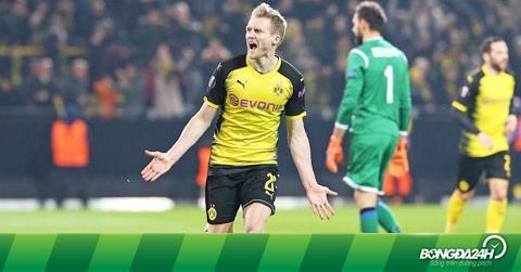 Nhận định Dortmund vs Frankfurt 00h00 ngày 12/3 (Bundesliga 2017/18)