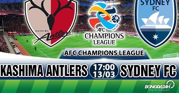 Nhận định Kashima Antlers vs Sydney 17h00 ngày 13/3 (AFC Champions League 2018)