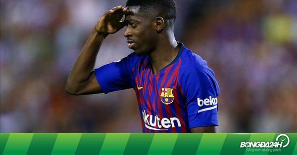 Barca sẵn sàng bán Dembele cho Arsenal nếu...