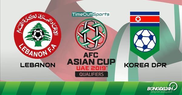 Nhận định Lebanon vs Triều Tiên 23h00 ngày 17/1 (Asian Cup 2019)