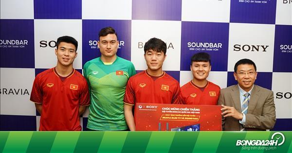 Sony mang thế giới giải trí đến ĐTQG Việt Nam cùng đón Xuân Kỷ Hợi - bongda24h