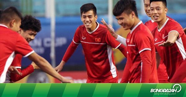 HLV Park Hang Seo gây bất ngờ ở đội hình đá chính trận Việt Nam vs Iraq - bongda24h